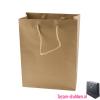 Gelamineerde papieren draagtas bedrukken goud, Gelamineerde papieren tas bedrukt, bedrukte papieren tas met logo, goedkope papieren tas