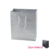 Gelamineerde papieren draagtas bedrukken zilver, Gelamineerde papieren tas bedrukt, bedrukte papieren tas met logo, goedkope papieren tas