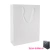 Glans gelamineerde draagtas bedrukken wit, Gelamineerde papieren tas bedrukt, bedrukte papieren tas met logo, goedkope papieren tas