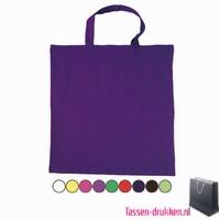 Katoenen draagtas gekleurd bedrukken, katoenen tas bedrukt, bedrukte katoenen tassen, goedkope katoenen tassen