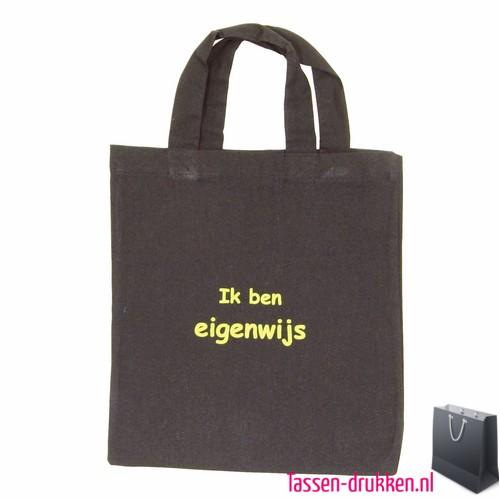 c746482aa2e Katoenen tas klein bedrukken bruin, katoenen tas bedrukt, bedrukte  gekleurde katoenen tassen, goedkope