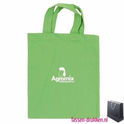b6a086fca97 Katoenen tas klein bedrukken groen, katoenen tas bedrukt, bedrukte  gekleurde katoenen tassen, goedkope