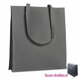 Katoenen tassen bedrukken twill, biologisch tasje bedrukt, duurzaam tasje met logo, goedkope katoenen tas