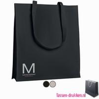 Katoenen tassen bedrukken, biologisch tasje bedrukt, duurzaam tasje met logo, goedkope katoenen tas