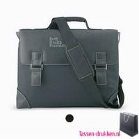 Laptoptas akte extra zware kwaliteit bedrukken, laptoptas bedrukt, bedrukte laptoptas met logo, goedkope laptoptas