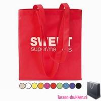Non woven boodschappentas bedrukken bedrukte Non woven tas, goedkope Non woven tas met logo