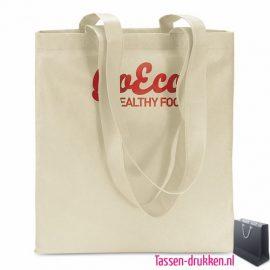 Non woven boodschappentas bedrukt, bedrukte Non woven tas, goedkope Non woven tas met logo