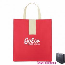 Non woven boodschappentas opvouwbaar bedrukken met logo, bedrukte Non woven tas, goedkope Non woven tas met logo