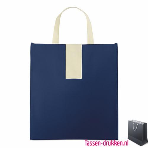 Non woven boodschappentas opvouwbaar bedrukt, bedrukte Non woven tas, goedkope Non woven tas met logo