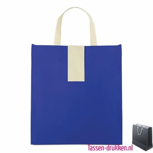 Non woven boodschappentas opvouwbaar bedrukte, bedrukte Non woven tas, goedkope Non woven tas met logo