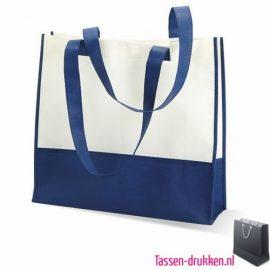 Non woven strandtas bedrukken blauw, bedrukte Non woven tas, goedkope Non woven tas met logo
