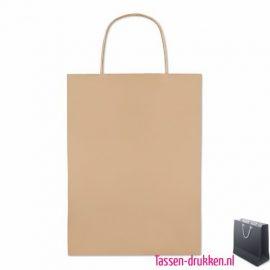 Papieren geschenktas bedrukt, papieren tas bedrukt, bedrukte papieren tas met logo, goedkope papieren tas