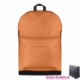 Rugzak budget bedrukken oranje koningsdag, rugzakje bedrukt, bedrukte rugtas, goedkope rugtas