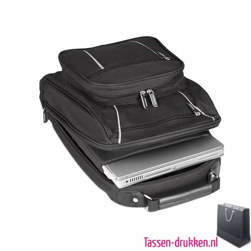 laptoptas-13-inch-rugzak-zware-kwaliteit bedrukken met logo, laptoptas bedrukt, bedrukte laptoptas met logo, goedkope laptoptas