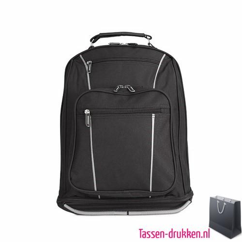laptoptas-13 inch rugzak zware kwaliteit bedrukt, laptoptas bedrukt, bedrukte laptoptas met logo, goedkope laptoptas