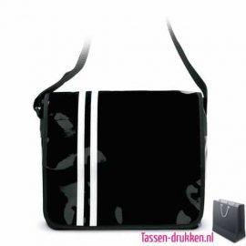 Schoudertas PVC bedrukken met logo, bedrukte schoudertas met logo, goedkope schooltas bedrukken